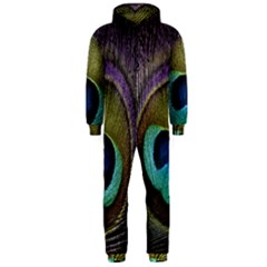 Peacock Feather Hooded Jumpsuit (men)
