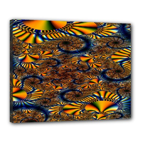 Pattern Bright Canvas 20  X 16  by BangZart