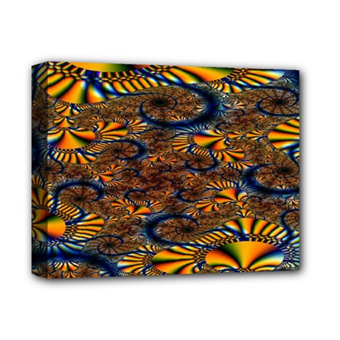 Pattern Bright Deluxe Canvas 14  X 11  by BangZart