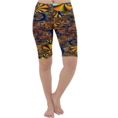 Pattern Bright Cropped Leggings