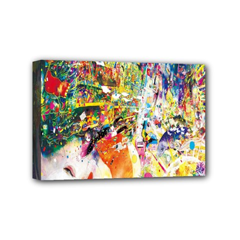 Multicolor Anime Colors Colorful Mini Canvas 6  X 4  by BangZart