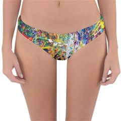 Multicolor Anime Colors Colorful Reversible Hipster Bikini Bottoms