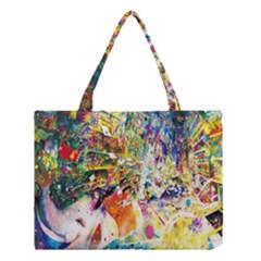 Multicolor Anime Colors Colorful Medium Tote Bag