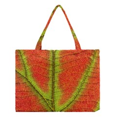 Nature Leaves Medium Tote Bag