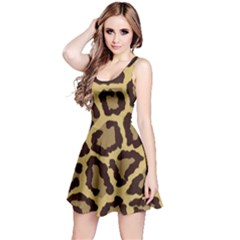 Leopard Reversible Sleeveless Dress