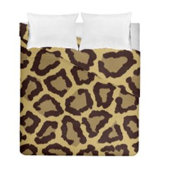 Leopard Duvet Cover Double Side (full/ Double Size) by BangZart
