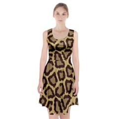 Leopard Racerback Midi Dress