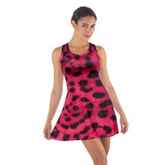 Leopard Skin Cotton Racerback Dress