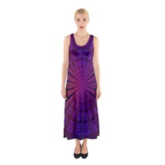 Matrix Sleeveless Maxi Dress