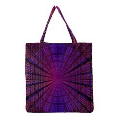 Matrix Grocery Tote Bag