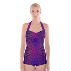 Matrix Boyleg Halter Swimsuit
