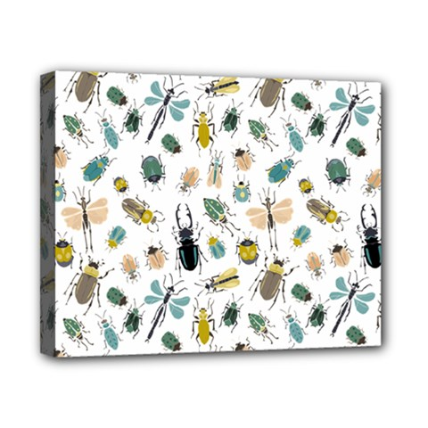 Insect Animal Pattern Canvas 10  X 8  by BangZart