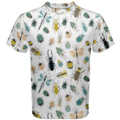 Insect Animal Pattern Men s Cotton Tee