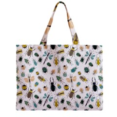 Insect Animal Pattern Zipper Mini Tote Bag by BangZart