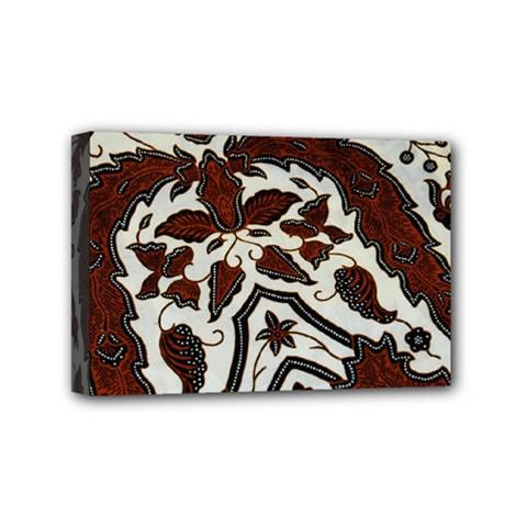 Javanese Batik Mini Canvas 6  X 4