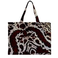 Javanese Batik Zipper Mini Tote Bag by BangZart