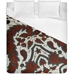 Javanese Batik Duvet Cover (california King Size)