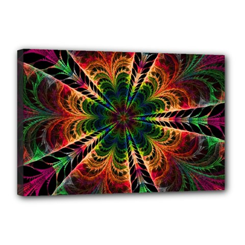 Kaleidoscope Patterns Colors Canvas 18  X 12