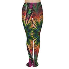 Kaleidoscope Patterns Colors Women s Tights by BangZart