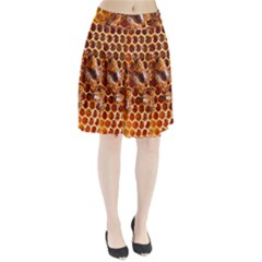 Honey Bees Pleated Skirt