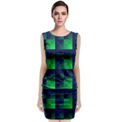 Fractal Classic Sleeveless Midi Dress