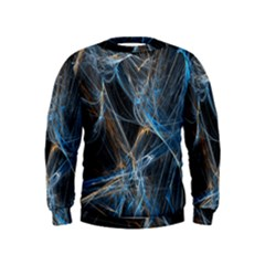 Fractal Tangled Minds Kids  Sweatshirt