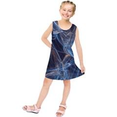 Fractal Tangled Minds Kids  Tunic Dress