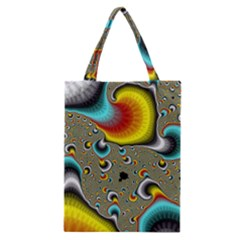 Fractals Random Bluray Classic Tote Bag