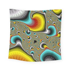 Fractals Random Bluray Square Tapestry (small)