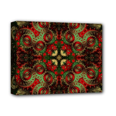 Fractal Kaleidoscope Deluxe Canvas 14  X 11  by BangZart