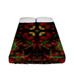 Fractal Kaleidoscope Fitted Sheet (full/ Double Size)