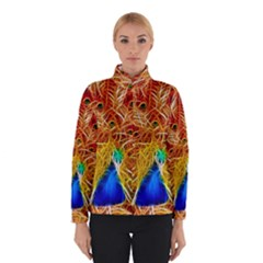 Fractal Peacock Art Winterwear