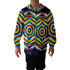 Flower Of Life Universal Mandala Hooded Wind Breaker (kids)