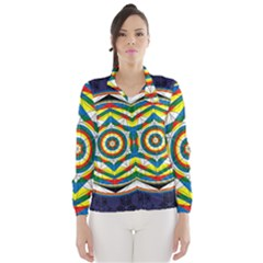 Flower Of Life Universal Mandala Wind Breaker (women)