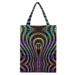 Curves Color Abstract Classic Tote Bag by BangZart