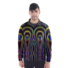 Curves Color Abstract Wind Breaker (men) by BangZart