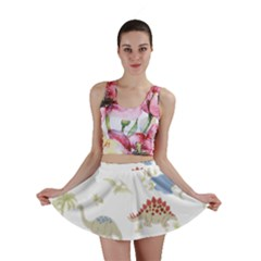Dinosaur Art Pattern Mini Skirt