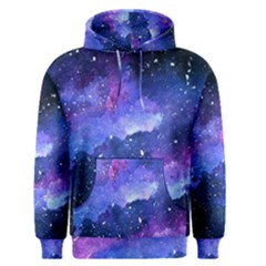 Galaxy Men s Pullover Hoodie by Kathrinlegg