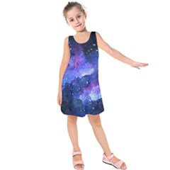 Galaxy Kids  Sleeveless Dress by Kathrinlegg