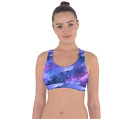 Galaxy Cross String Back Sports Bra by Kathrinlegg