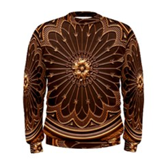 Decorative Antique Gold Men s Sweatshirt
