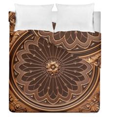 Decorative Antique Gold Duvet Cover Double Side (queen Size)