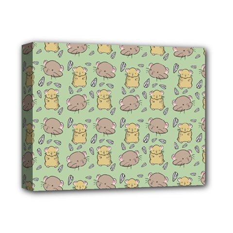 Cute Hamster Pattern Deluxe Canvas 14  X 11