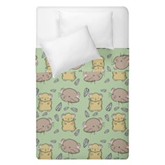 Cute Hamster Pattern Duvet Cover Double Side (single Size) by BangZart