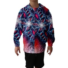 Creative Abstract Hooded Wind Breaker (kids)