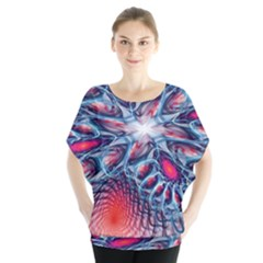Creative Abstract Blouse