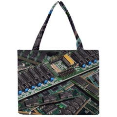 Computer Ram Tech Mini Tote Bag by BangZart