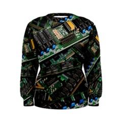 Computer Ram Tech Women s Sweatshirt