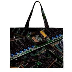 Computer Ram Tech Zipper Mini Tote Bag by BangZart