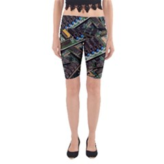 Computer Ram Tech Yoga Cropped Leggings